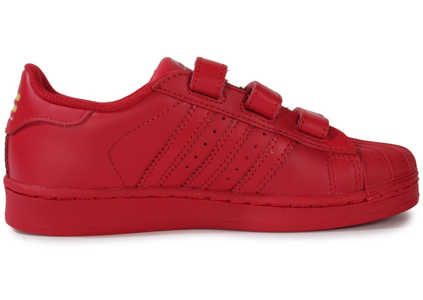 adidas superstars rouge femme original