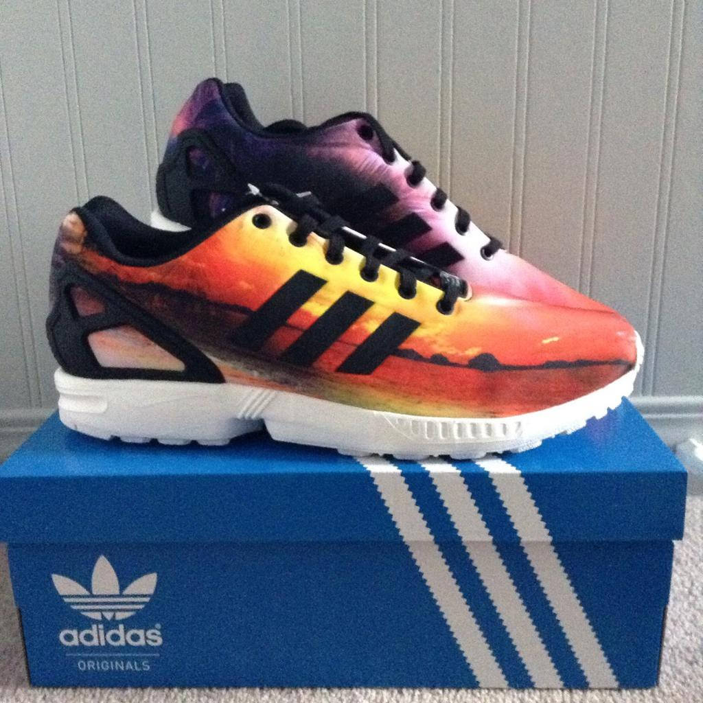 sports shoes 3052a 66111 adidas zx flux sunset