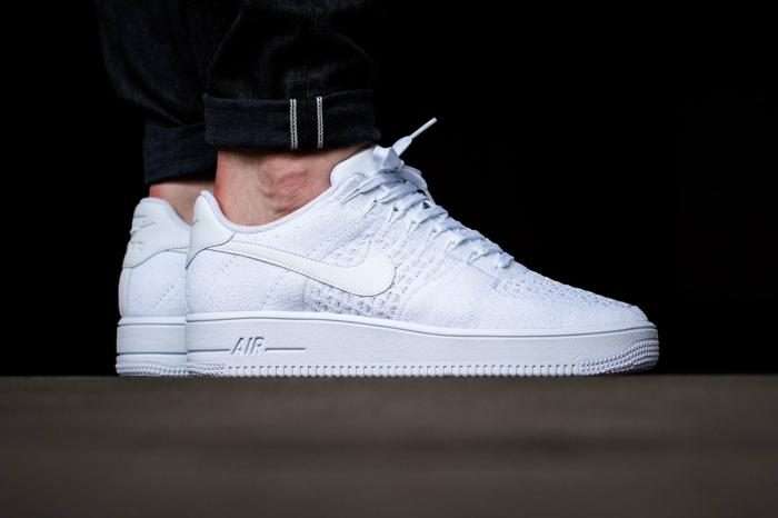 new style 6964d d71d4 air force one blanc homme