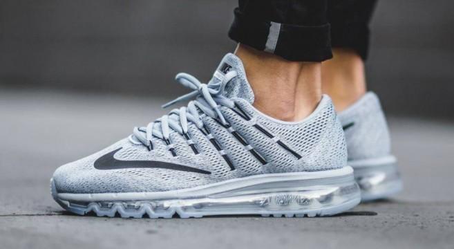 Chaussures Nike Air Max 2016 Gris Homme Vente En Ligne
