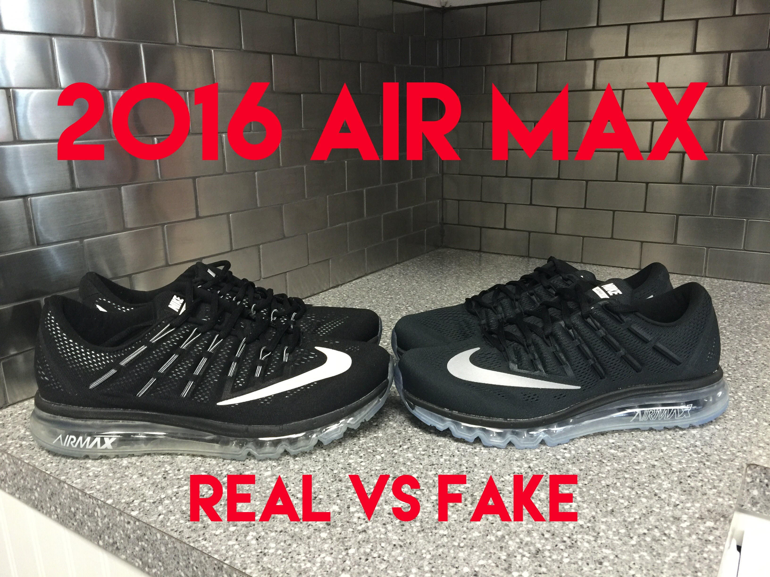 air max 2017 real vs fake