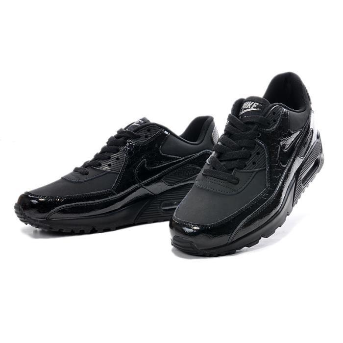 designer fashion bcdc6 ff863 air max 90 noir brillante