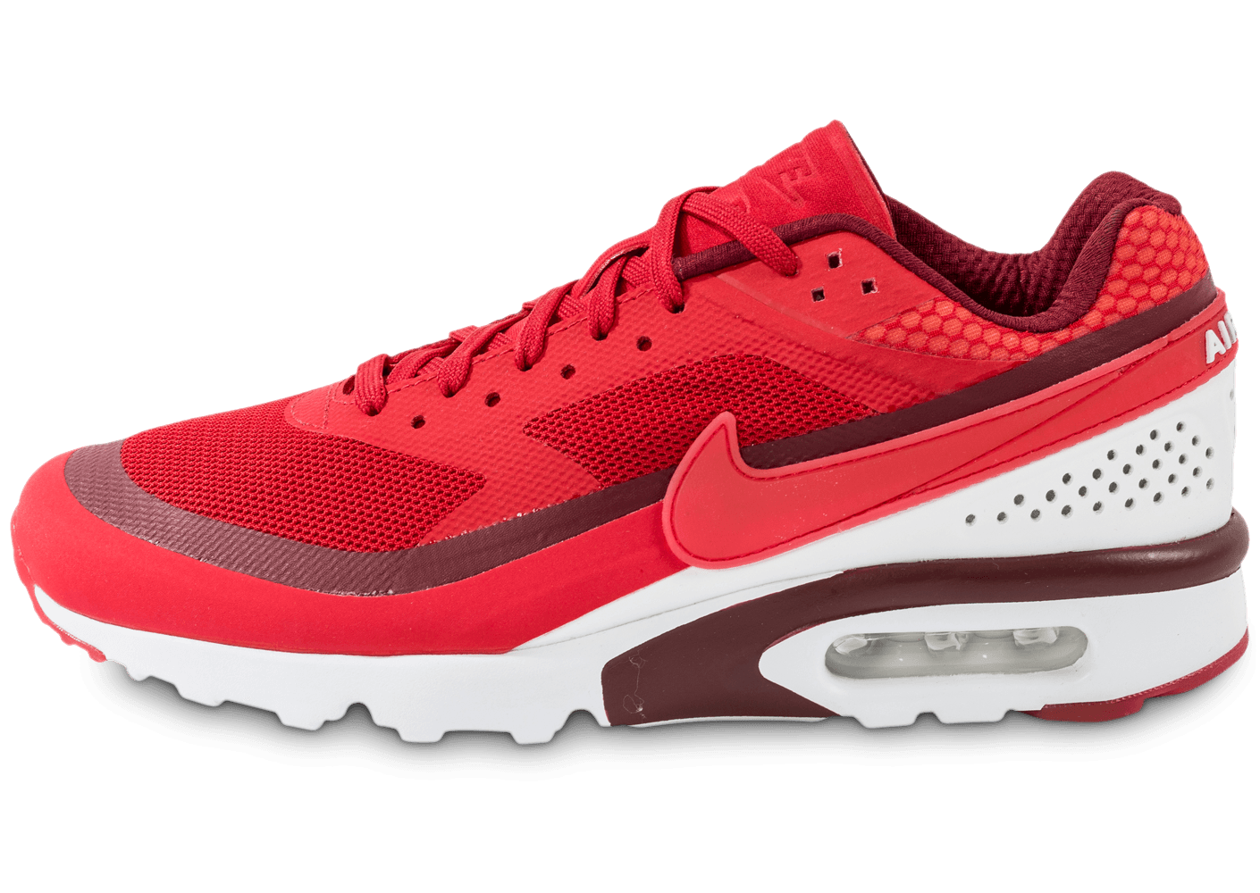 Femme Nike redwhite Chaussures Baskets Air Max BW Ultra
