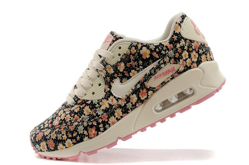 super popular f141e b5e60 low price nike 2013 air max 90 fleurs femme paris chaussures peach 5f949  45a6d usa air max femme couleur 258b5 98214