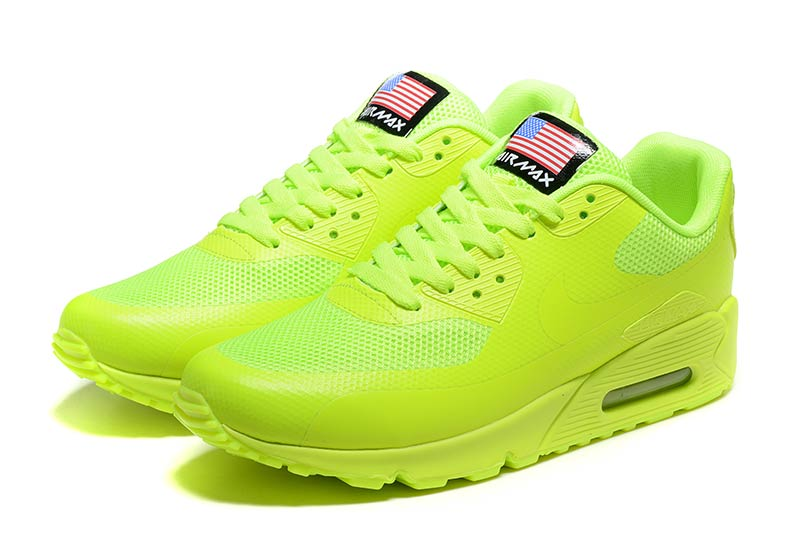 best sneakers 50dbd f105d reduced femmes nike air max 90 jaune vert c103a 8ab62