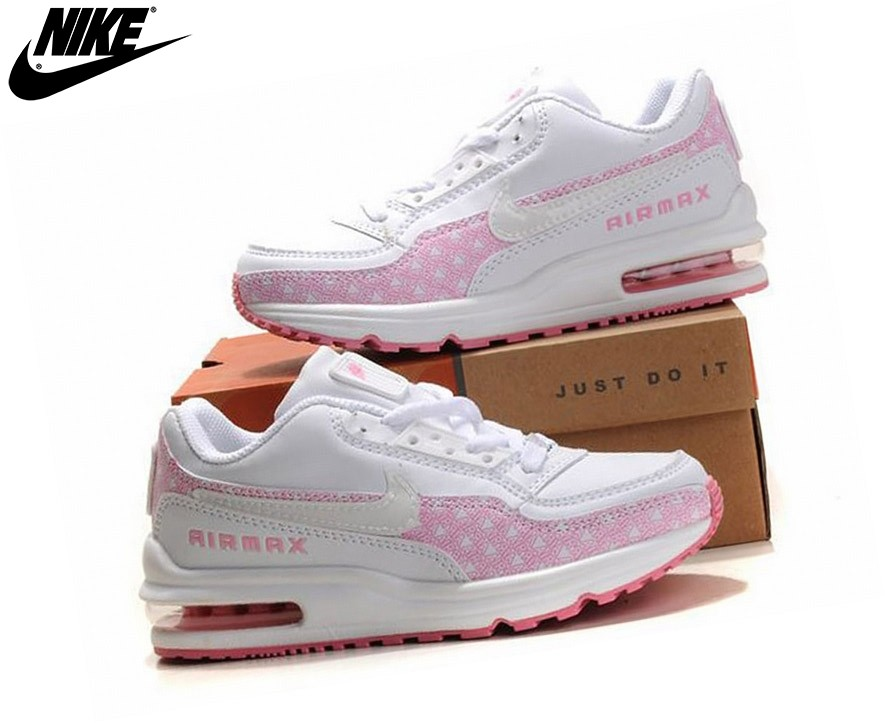 air max fille grise et rose