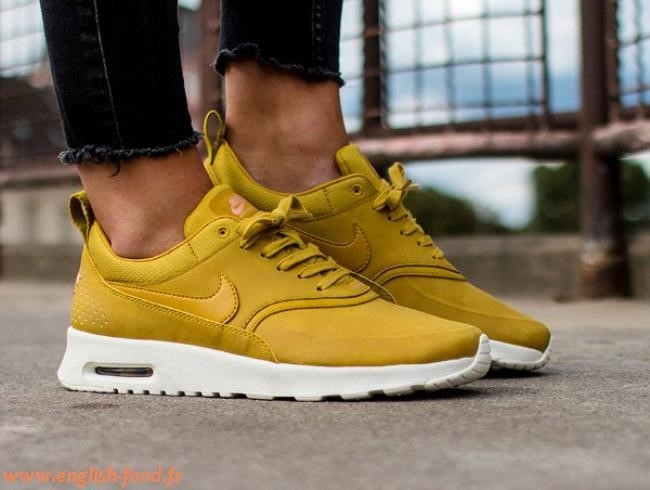 nike air max thea moutarde femme