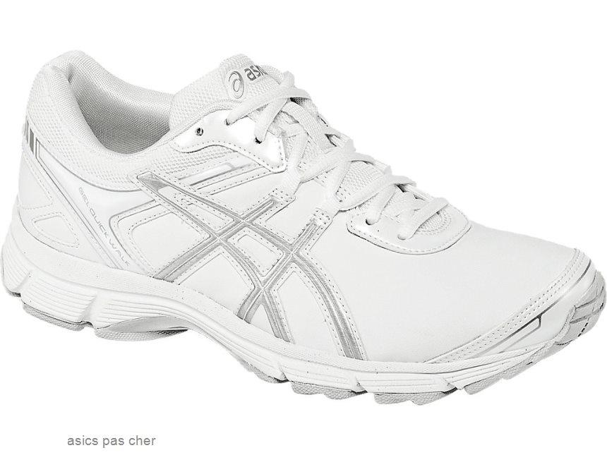 asics running femme blanche