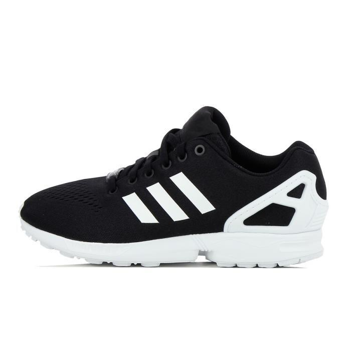 check-out 7567b 8e993 France Pas Cher basket adidas zx flux noir et blanc Vente en ...