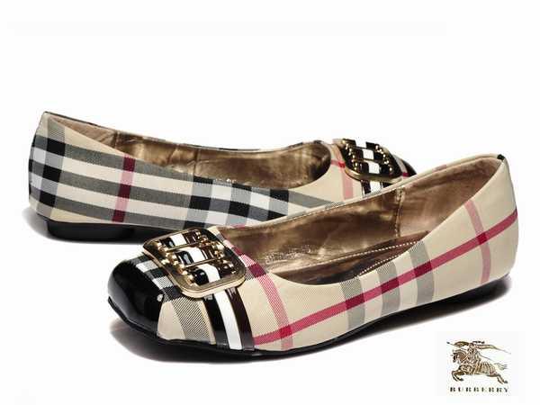 chaussure en burberry Cher Pas femme pas ligne Vente cher France q8HEfx